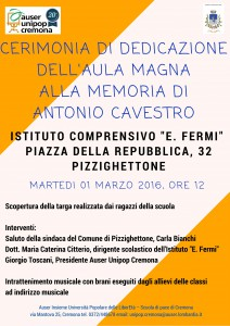 Dedicazione Aula Magna ad Antonio Cavestro (2)